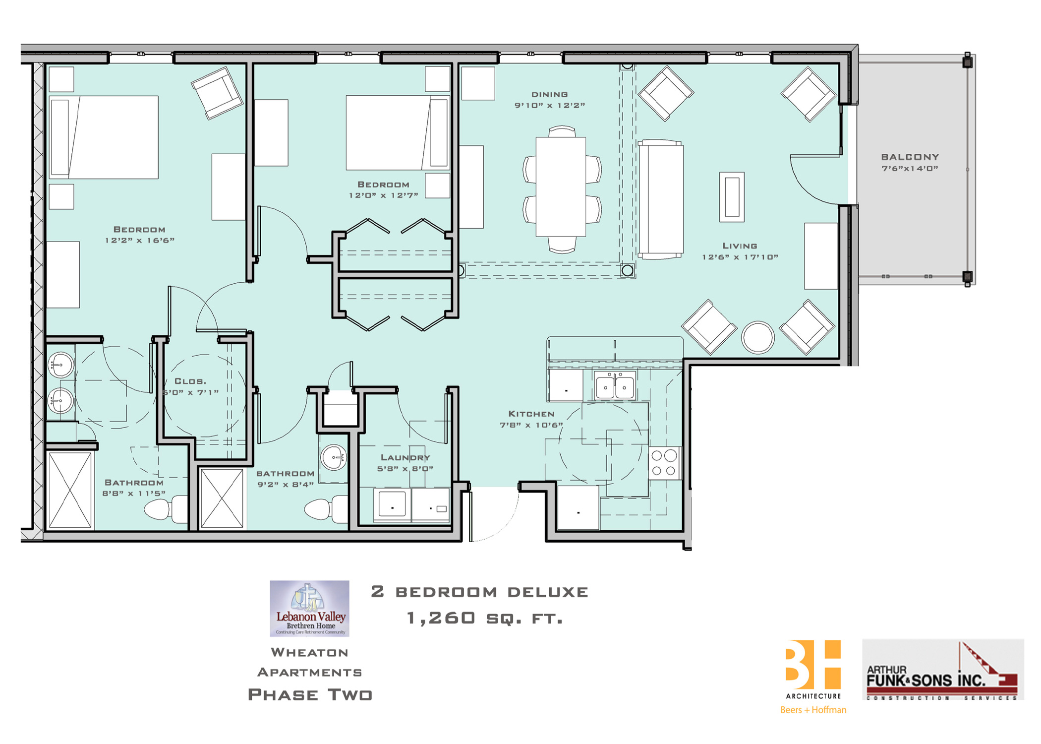 Two Bedroom Delux